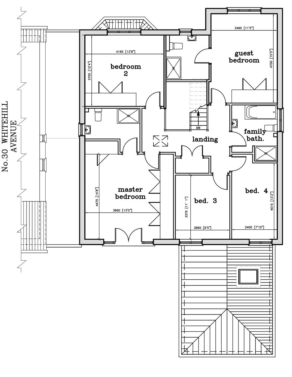 Floor Layout Plan Mead Estates Ltd 32 Whitehill Avenue Luton Floor Plans